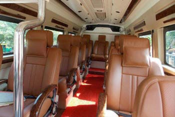 9 Seater Car >> tempo traveller images, pictures and photo gallery inside and outside